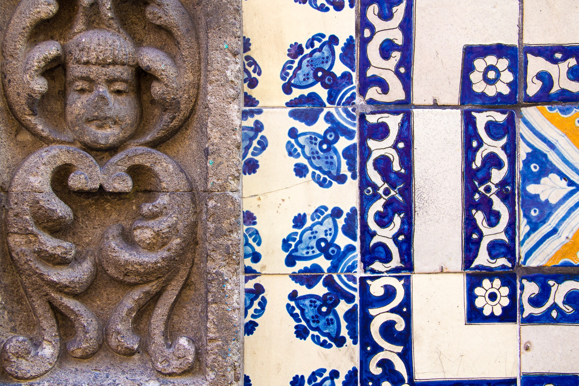 Azulejos, Centro Histórico da Cidade do México.