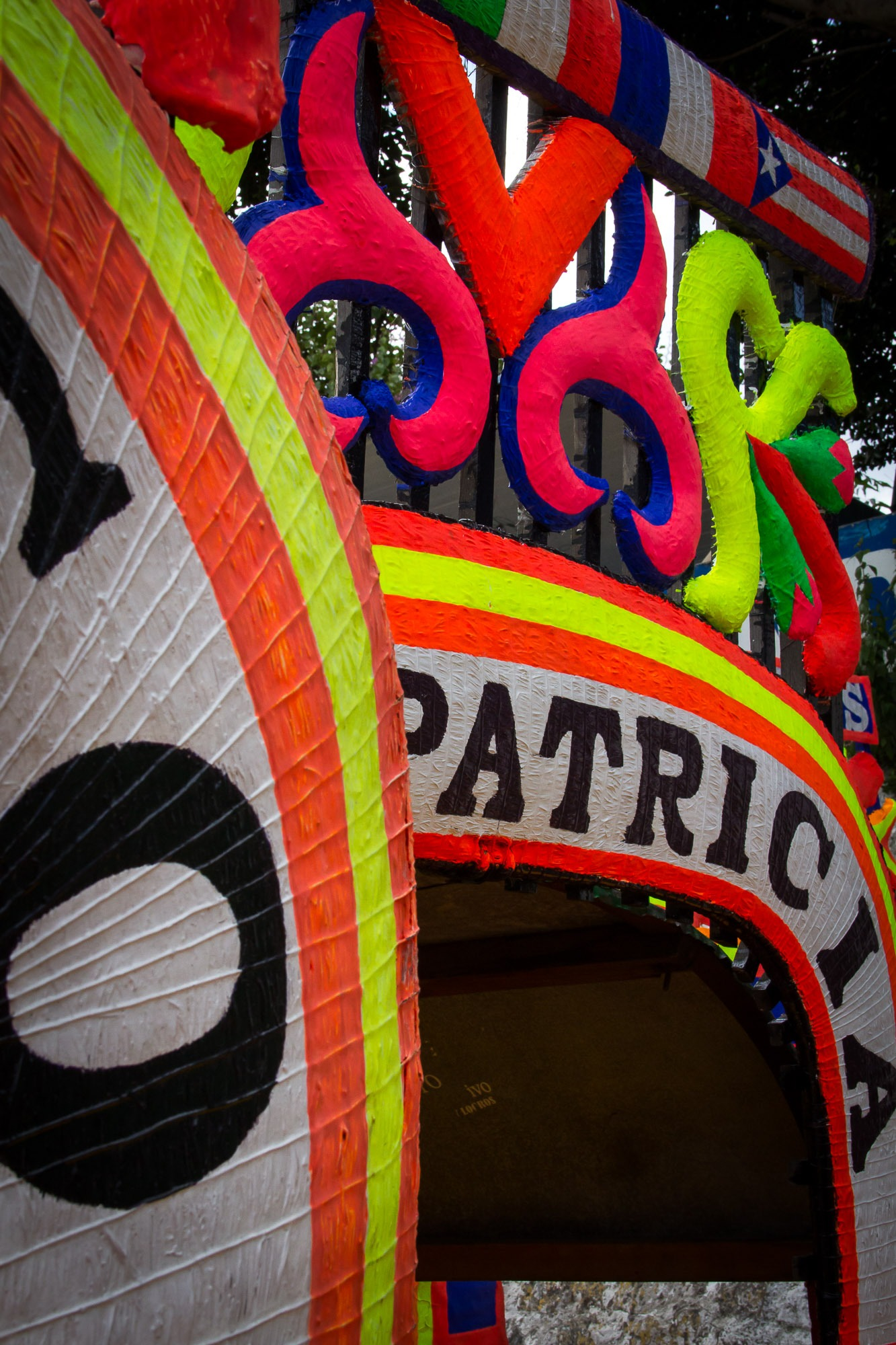 Patricia, uma gôndola de Xochimilco